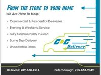 Delivery Service *from the store to your home!*