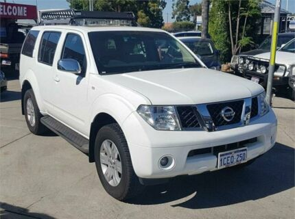2006 Nissan Pathfinder R51 TI (4x4) White 5 Speed Automatic Wagon Cannington Canning Area Preview