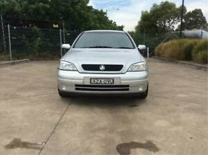 2002 Holden Astra TS City Silver 4 Speed Automatic Sedan Glendale Lake Macquarie Area Preview