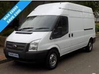 62(12) FORD TRANSIT 350 LWB HIGH ROOF 2.2 FWD 125 BHP 6 SPEED EURO 5