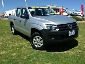 2014 Volkswagen Amarok 2H MY14 TDI420 4Motion Perm Silver 8 Speed Automatic Utility Wangara Wanneroo Area Preview