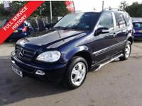 2005 05 MERCEDES-BENZ M CLASS ML270 2.7 CDI 5DR AUTO 163 BHP-FSH-SIDE STEPS DIES