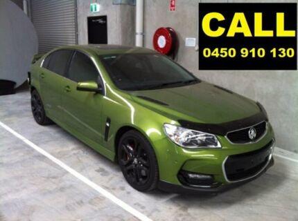 2015 Holden Commodore VF II SS-V Redline Jungle Green 6 Speed Manual Sedan