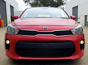 2018 Kia Rio YB MY18 S Red 4 Speed Sports Automatic Hatchback Dingley Village Kingston Area Preview
