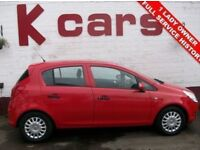 SMALL 5 DOOR 2010 VAUXHALL CORSA 1.2 S 1 LADY OWNER