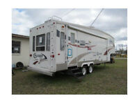 5th wheel RV Camping Rental