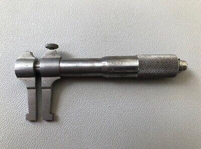 Brown And Sharpe 252 Inside Micrometer Caliper Vintage Rare