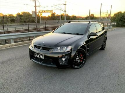 2008 Holden Special Vehicles ClubSport E Series MY09 R8 Tourer Black 6 Speed Sports Automatic Wagon Darra Brisbane South West Preview
