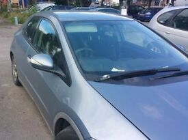 Honda Civic 1.8 O/S Front Door In Blue Colour (2006)