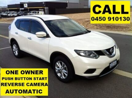 2014 Nissan X-Trail T32 ST (FWD) Pearl White Continuous Variable Wagon Ellenbrook Swan Area Preview