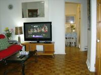 Wifi=PRIVATE studio-2 1/2-3 1/2apt[$700-900monthly,weekly,daily]