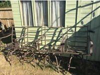 4 Vintage style garden chairs