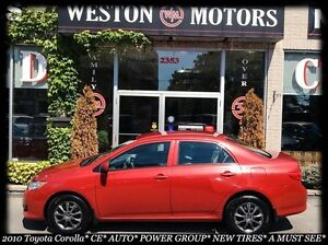 2010 Toyota Corolla CE* AUTO* POWER GROUP* NEW TIRES* A MUST SEE