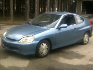 2001 Honda Insight light blue or 2000 Citrus (green)