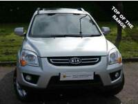 £0 DEPOSIT FINANCE (09)KIA Sportage 2.0 CRDi Titan 4WD 5dr***HEATED LEATHER** FREE AA WARRANTY