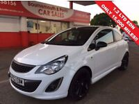 VAUXHALL CORSA 1.2 LIMITED EDITION 3d 83 BHP LTD EDITION FULL V S (white) 2012