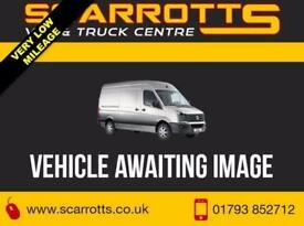 2013 13 FORD TRANSIT 350 2.2 TDCI LWB CREW VAN MEDIUM ROOF 11952 MILES ONLY DIES