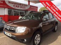 DACIA DUSTER 1.5 AMBIANCE DCI 5d 107 BHP DACIA WARRANTY 27TH NO (brown) 2014
