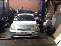 TOYOTA YARIS 1.0 VVTI 1999 2000 2001 2002 2003 2004 2005 BREAKING FOR SPARES