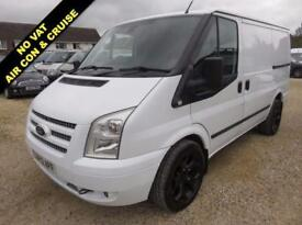 2012 12 FORD TRANSIT 2.2 TDCI T260 LIMITED SWB LOW ROOF 125 BHP 82344 MILES NO V