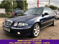 2004 ROVER 45 IMPRESSION S 1.8 1 OWNER FULL SERVICE HISTORY LONG MOT 3 KEYS