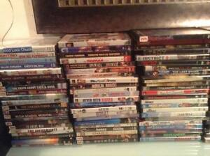 62 DVDS 40$ .. TODAY ONLY