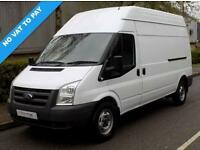 12(12) FORD TRANSIT 350 LWB HIGH ROOF 2.2 FWD 125 BHP 6 SPEED EURO 5 * NO VAT *