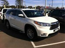 2015 Toyota Kluger GSU55R Grande AWD White 6 Speed Sports Automatic Wagon Cardiff Lake Macquarie Area Preview