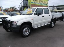 2003 Toyota Hilux LN167R (4x4) White 5 Speed Manual 4x4 Dual Cab Pick-up Homebush Strathfield Area Preview