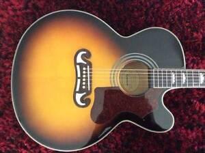 Epiphone EJ-200CE (EJ 200 CE) Jumbo Acoustic Electric Guitar MINT Ormeau Gold Coast North Preview