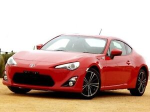 2013 Toyota 86 ZN6 GTS Red 6 Speed Manual Coupe Christies Beach Morphett Vale Area Preview