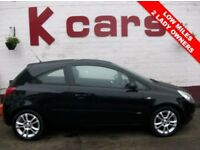 A GREAT FIRST CAR 2007 VAUXHALL CORSA 1.2 SXi LOW MILES