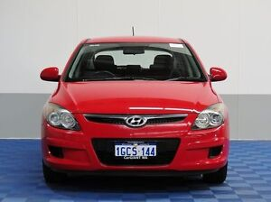 2011 Hyundai i30 FD MY11 SX Red 4 Speed Automatic Hatchback Morley Bayswater Area Preview