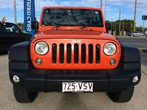 2014 Jeep Wrangler JK MY2014 Sport Orange 5 Speed Automatic Softtop Currimundi Caloundra Area Preview