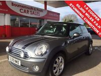 MINI HATCH COOPER 1.6 COOPER GRAPHITE 3d 118 BHP Just Been MOT'D and (grey) 2009