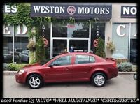2008 Pontiac G5 AUTO* CERT&ETESTED* WELL MAINTAINED