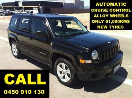 2015 Jeep Patriot MK MY15 Sport (4x2) Black 6 Speed Automatic Wagon Ellenbrook Swan Area Preview