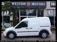 2010 Ford Transit Connect XLT* ADVANCETRAK* WOW! ONLY 69KMS!