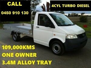 2008 Volkswagen Transporter T5 MY08 (LWB) White 5 Speed Manual Utility Wangara Wanneroo Area Preview