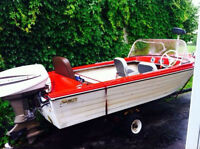 14' runabout with trailer
