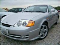 Hyundai V6 Coupe breaking for parts 2003