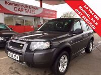 LAND ROVER FREELANDER 2.0 TD4 S STATION WAGON 5d 110 BHP READY TO GO TOD (grey) 2004