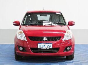 2012 Suzuki Swift FZ RE.2 Red 4 Speed Automatic Hatchback Jandakot Cockburn Area Preview