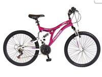 Ladies/girls pink bike
