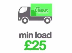 Cheap Waste removal, rubbish removal, garden, house, office, garage clearance, man and van, no skip