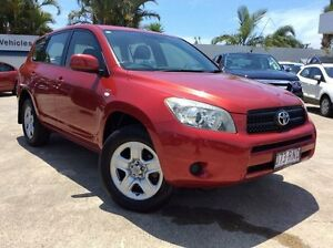 2006 Toyota RAV4 ACA33R CV Red 4 Speed Automatic Wagon Currimundi Caloundra Area Preview