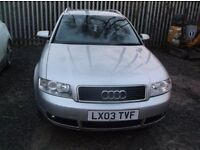 Audi A4 Avant in good condition. Please message me with any enquiries on 07920 117585