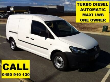 2015 Volkswagen Caddy 2K MY15 Maxi TDI250 Candy White 7 Speed Auto Direct Shift Van Ellenbrook Swan Area Preview