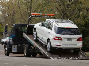 Sams Towing Truck Service Edmonton - (Call us @: 780.695.0404)