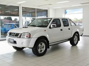 2012 Nissan Navara D22 Series 5 ST-R (4x4) White 5 Speed Manual Dual Cab Pick-up Morley Bayswater Area Preview